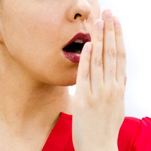 Mundgeruch Behandlung